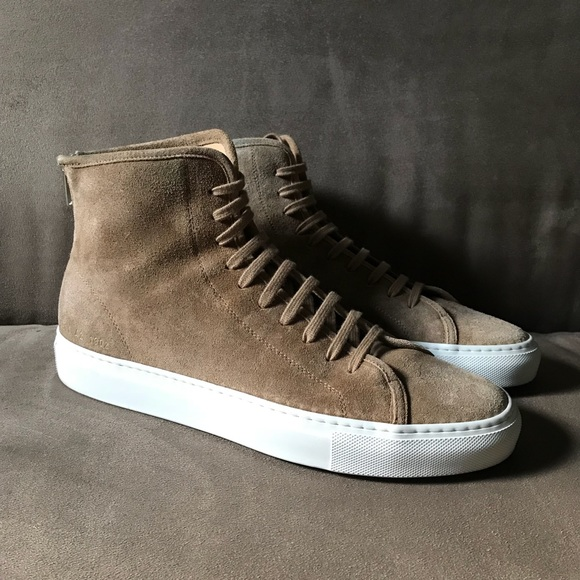 83a2150883de 42 Common Projects Tournament High Waxed Suede